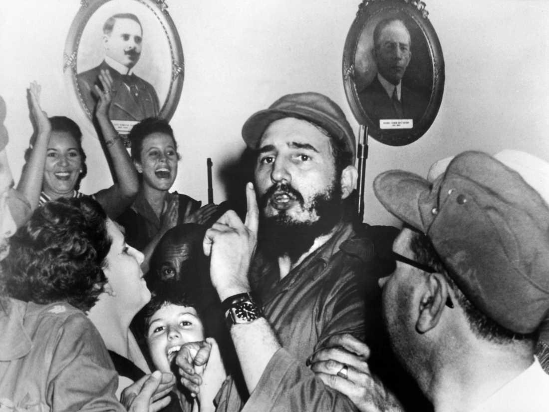 Fidel Castro på en bild från 1959.