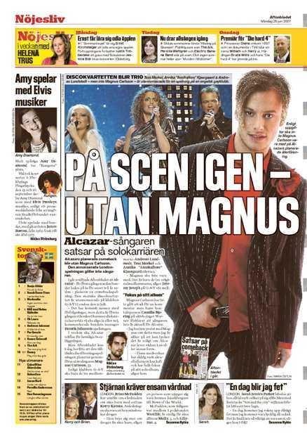 Aftonbladet den 25/6.