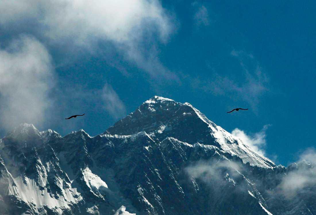 Det finns gott om plats på Mount Everest den här klättringssäsongen. Arkivbild.
