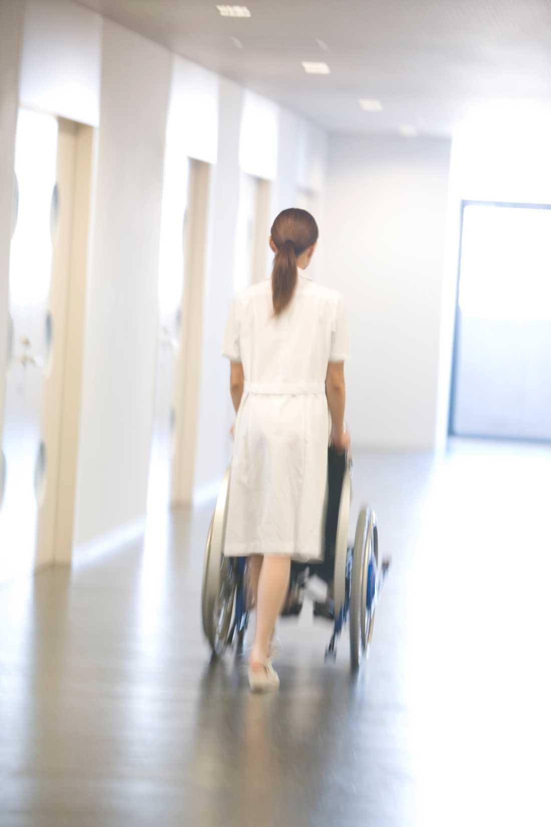 Har en undersköterska ansträngt sig mindre?