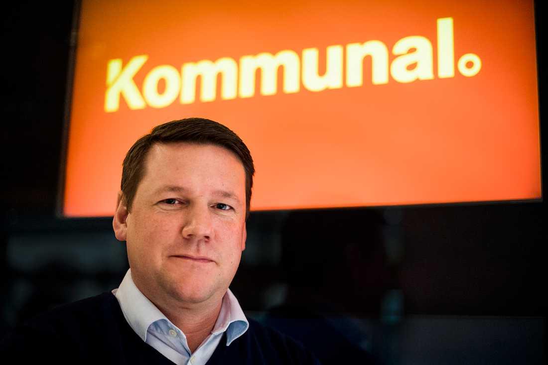 Kommunals förbundsordförande Tobias Baudin.