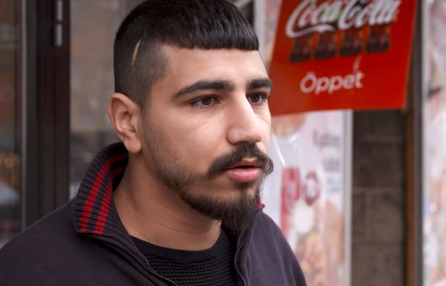 Basel Zedan, 26, körde mördade Jaffars vän till akuten.