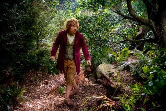 Martin Freeman spelar Bilbo.