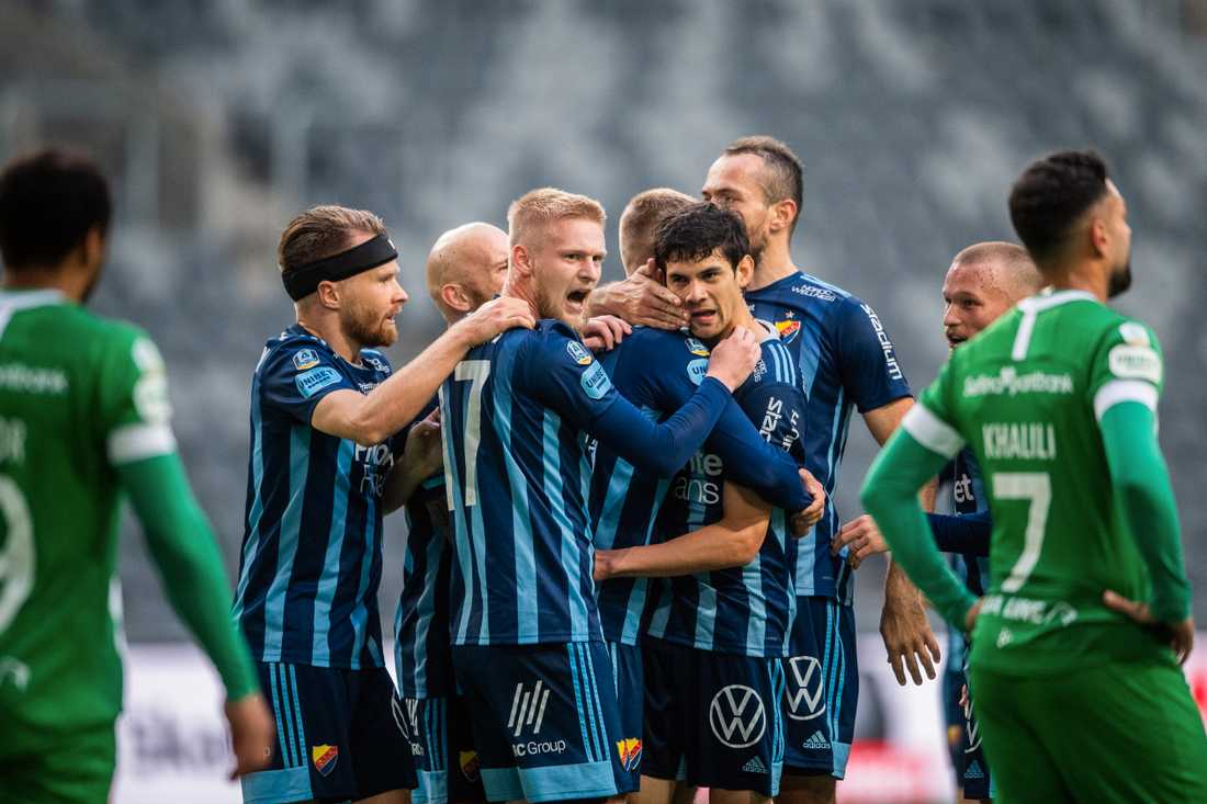 Jesper Nyholm derbypoängräddare mot Djurgården.