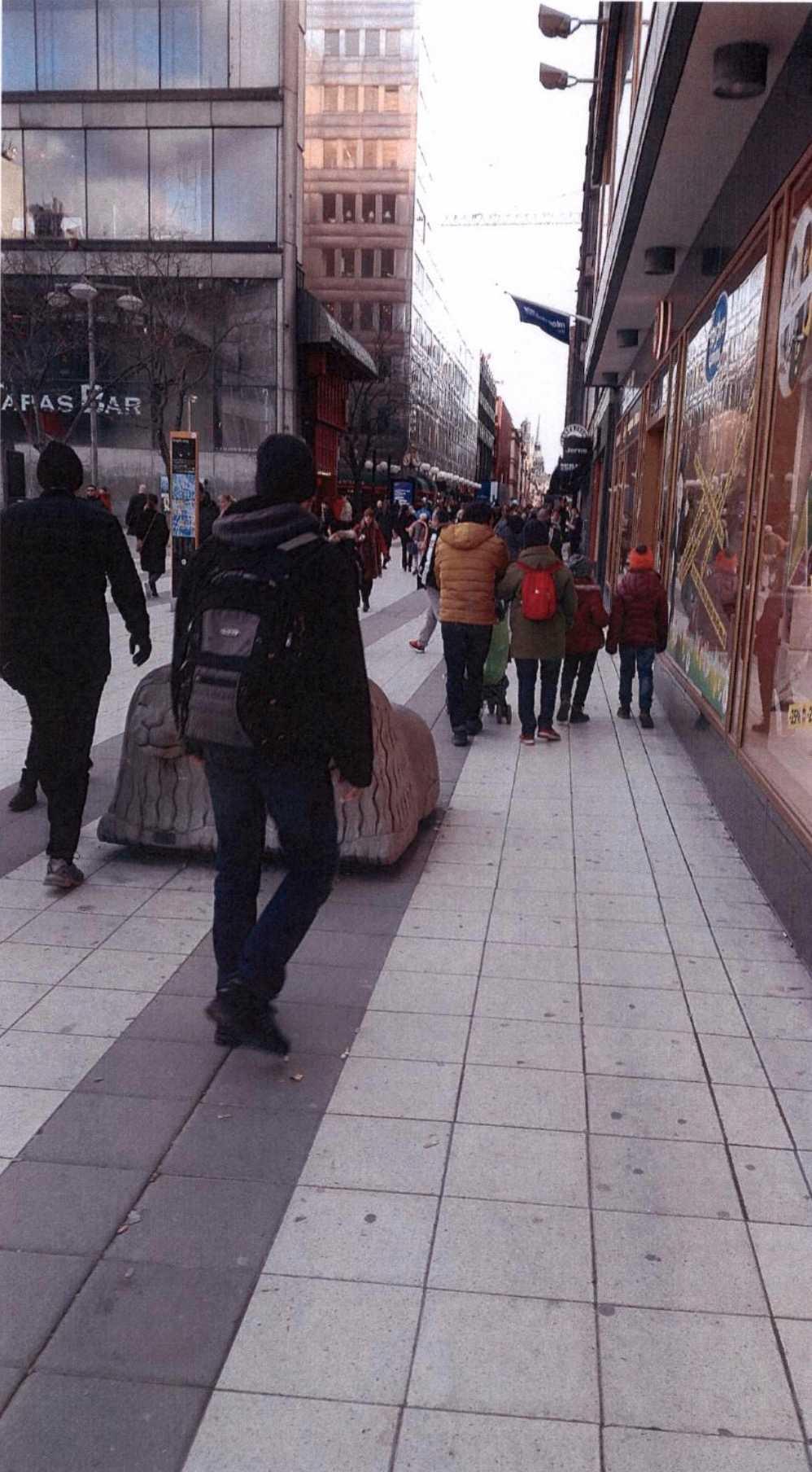 Akilovs bilder från Drottniggatan, Stockholm.