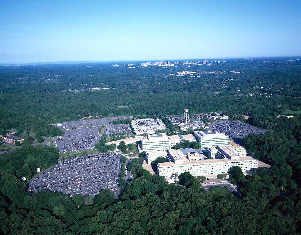 Cia:s högkvarter i Langley, Virginia.