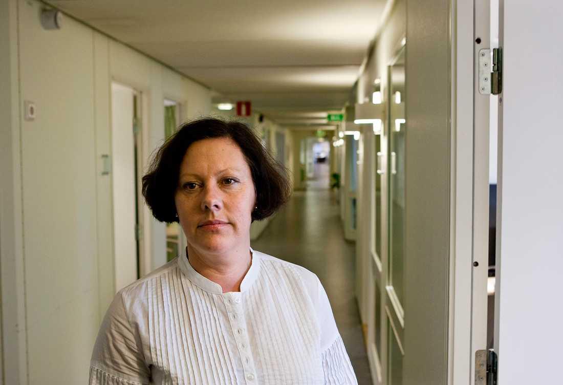 Anne-Marie Svensson, divisionschef för Aleris Omsorg.