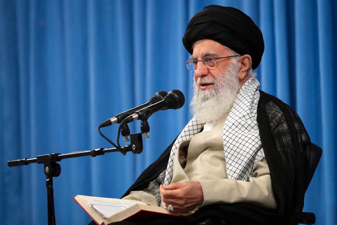 Irans högste ledare Ali Khamenei.