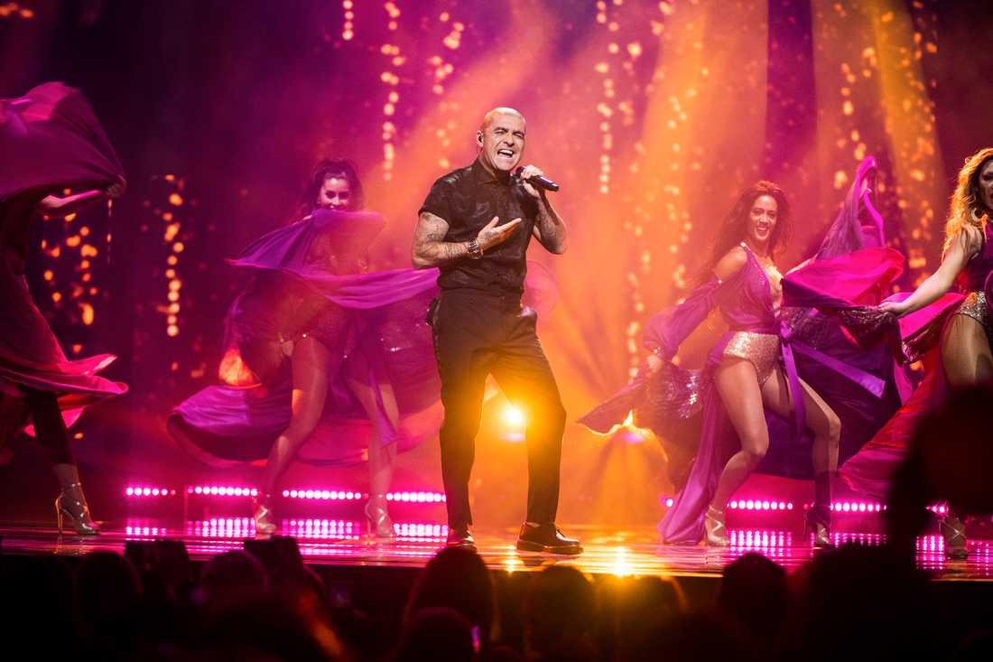 Mendez i Melodifestivalens final