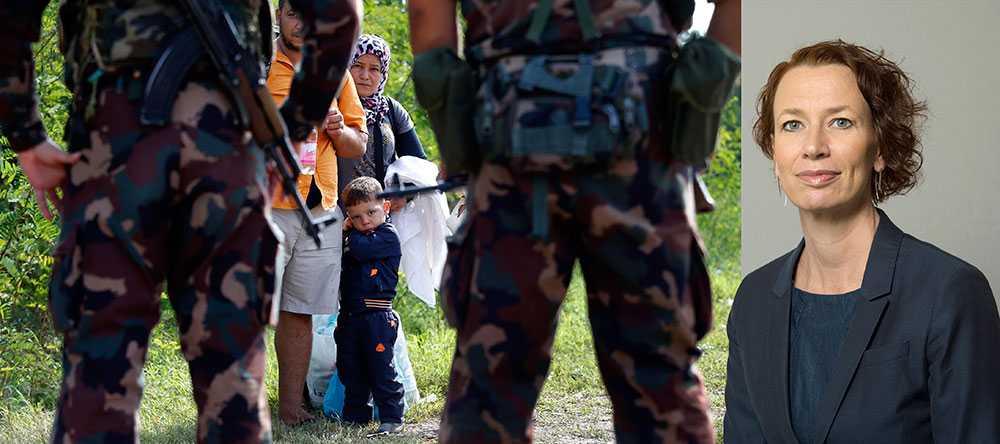 Att färre söker asyl i Sverige idag än tidigare beror inte på den tillfälliga lagen. Det beror på att det är svårare att ta sig in i och igenom Europa, skriver Christina Höj Larsen, flyktingpolitisk talesperson för Vänsterpartiet.