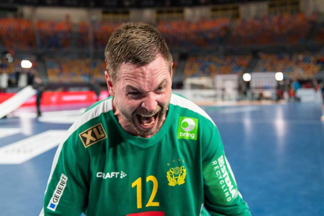 Andreas Palicka under handbolls-VM.
