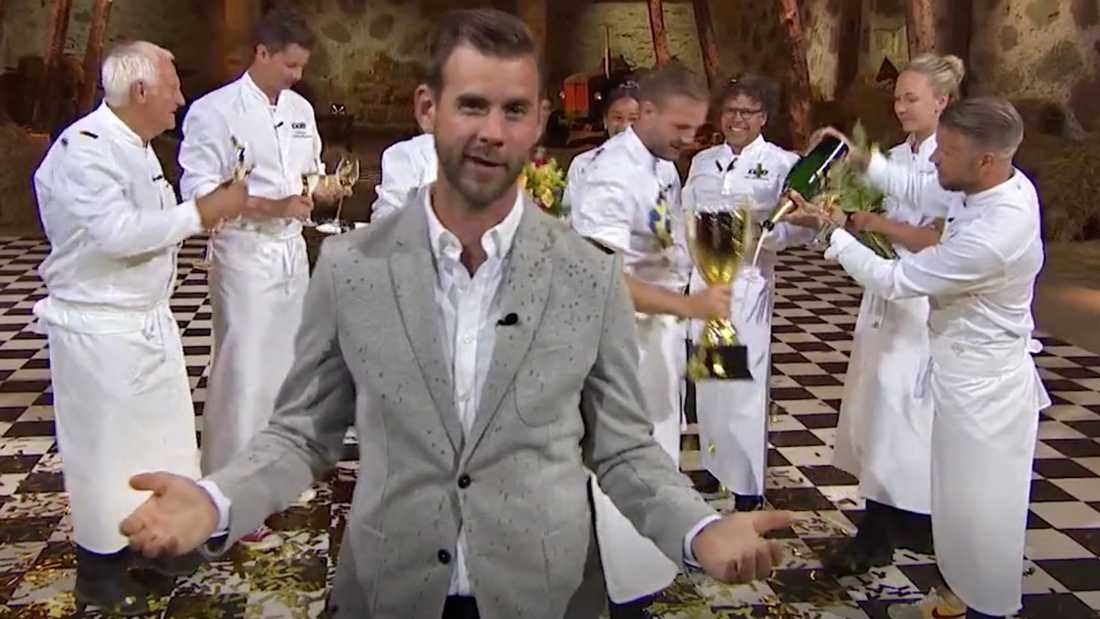 """Pär Lernström, programledare för """"Kockarnas kamp""""."""