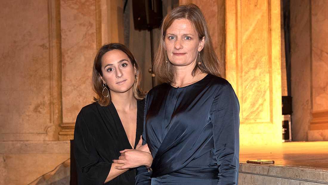 Michael Nyqvists dotter Ellen och änka Catharina.