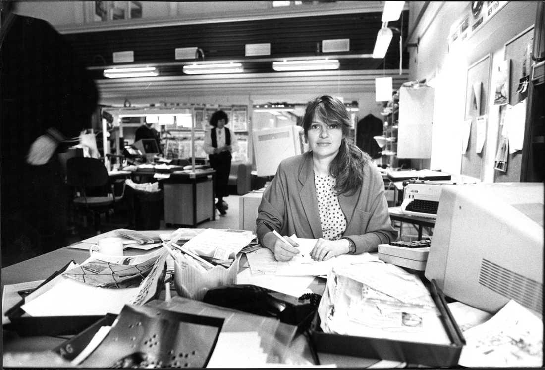Genom bilagor som Söndag och Kvinna var Monica Gunne med om att göra Aftonbladet till Sverige mest läsa tidning.