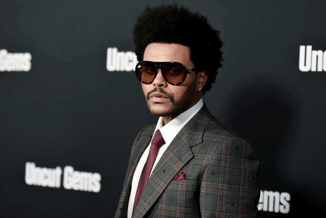 Abel Tefaye, känd under artistnamnet The Weeknd. Arkivbild.