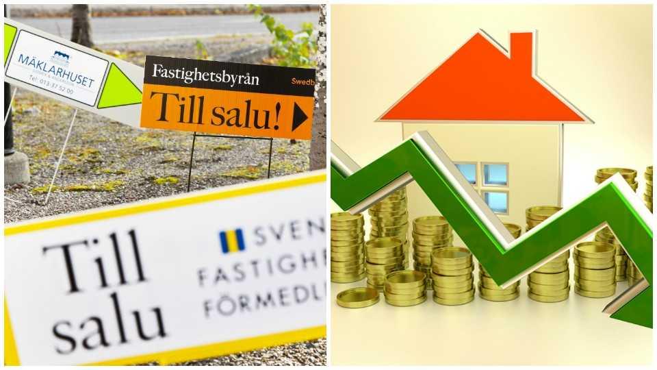 Andelen prissänkningar av lägenheter ökar.