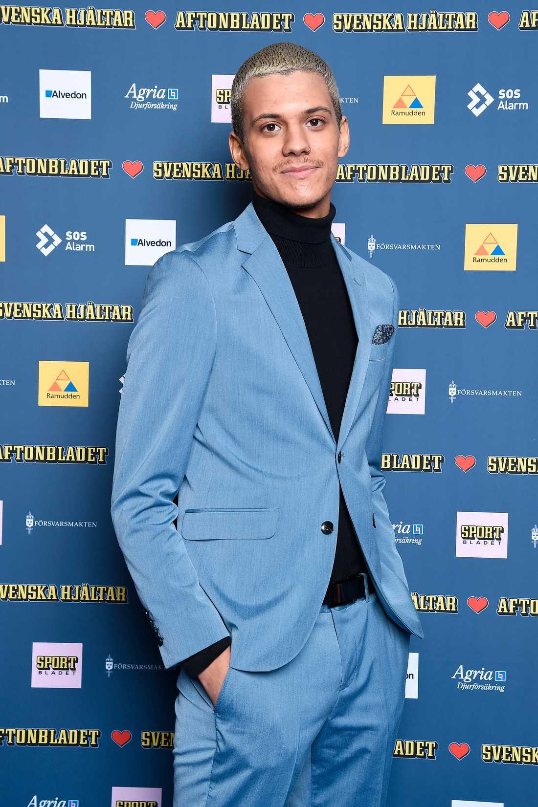 Willam Strid från Idol 2018 var bäst klädd av männen, enligt Aftonbladets modeexpert Jenny Alexandersson.