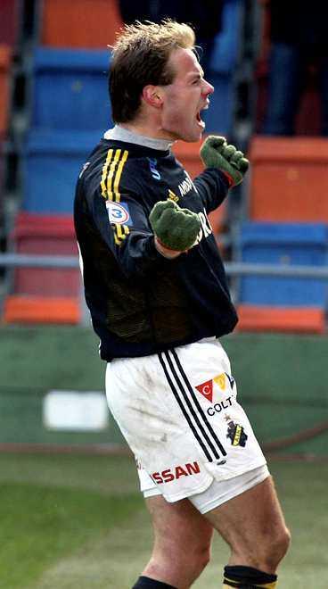 Andreas Alm, AIK - än så länge.