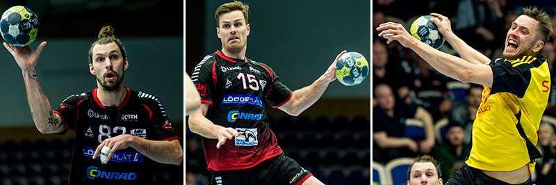 Petersen, Lindahl och Larholm är alla med i det pågående slutspelet hemma i Sverige.