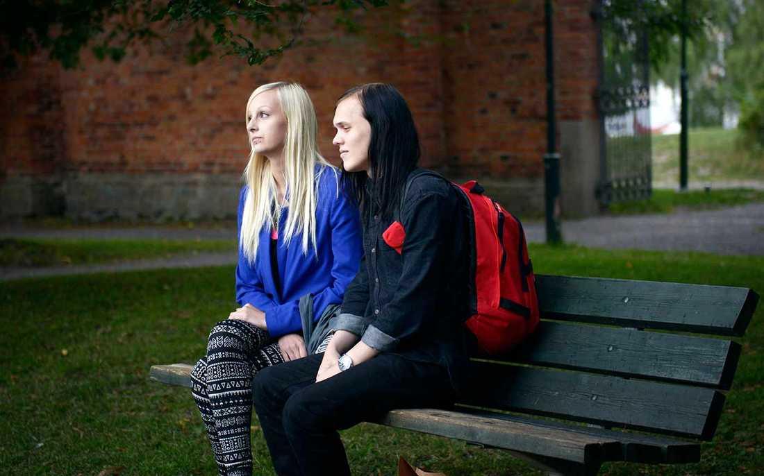 Rickard Dahlberg, 20, och Linda Höstklint, 19.