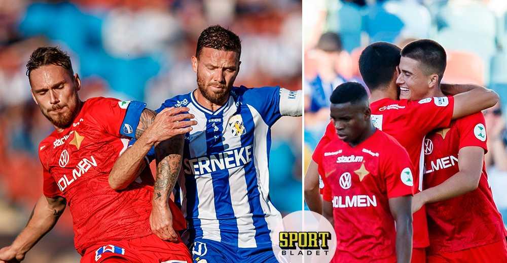 IFK Norrköping vann borta mot IFK Göteborg