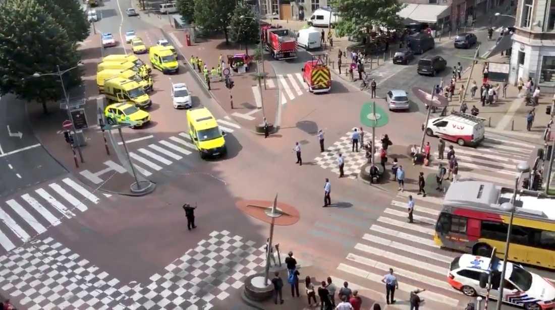 Staden Liege i Belgien.
