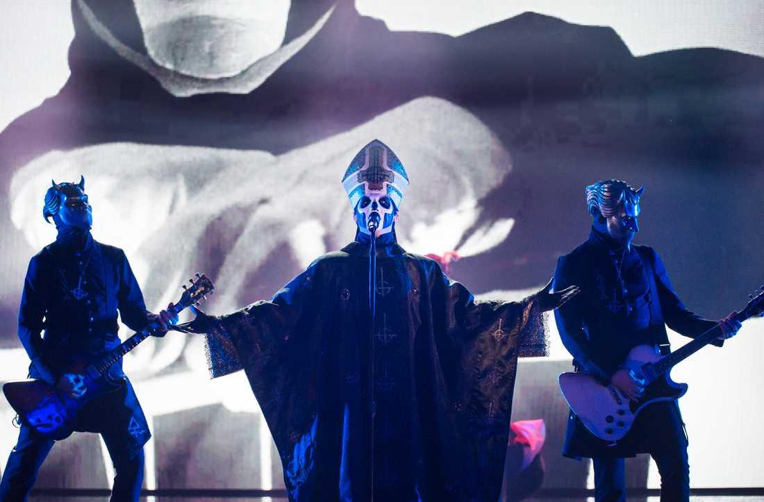 Ghost är det i särklass hetaste svenska hårdrockbandet i år.