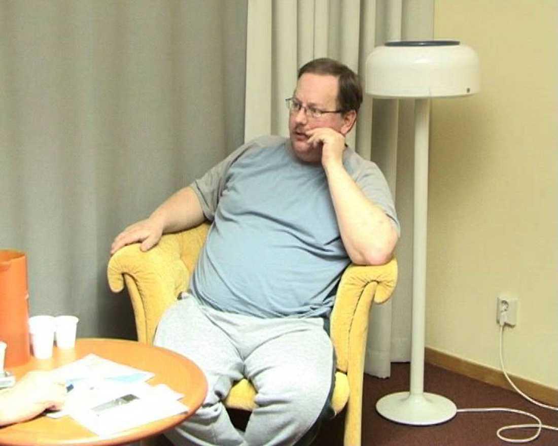 Dubbelmördaren Anders Eklund.