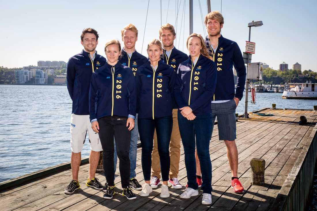 Anton Dahlberg, Hanna Klinga, Fredrik Bergström, Lisa Ericson, Jesper Stålheim, Josefin Olsson & Max Salminen.