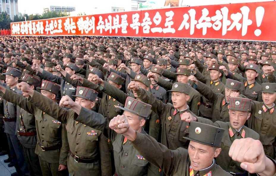 Nordkoreas armé.