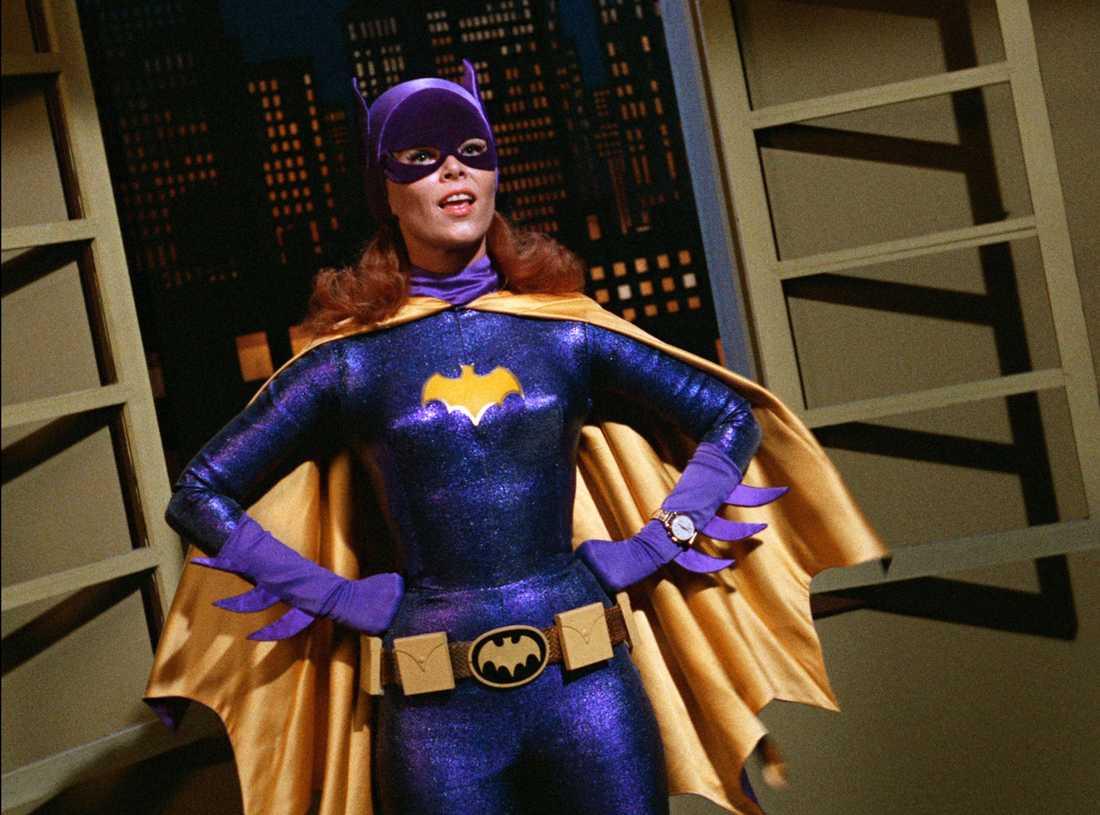 Yvonne Craig spelade Batgirl redan 1966.