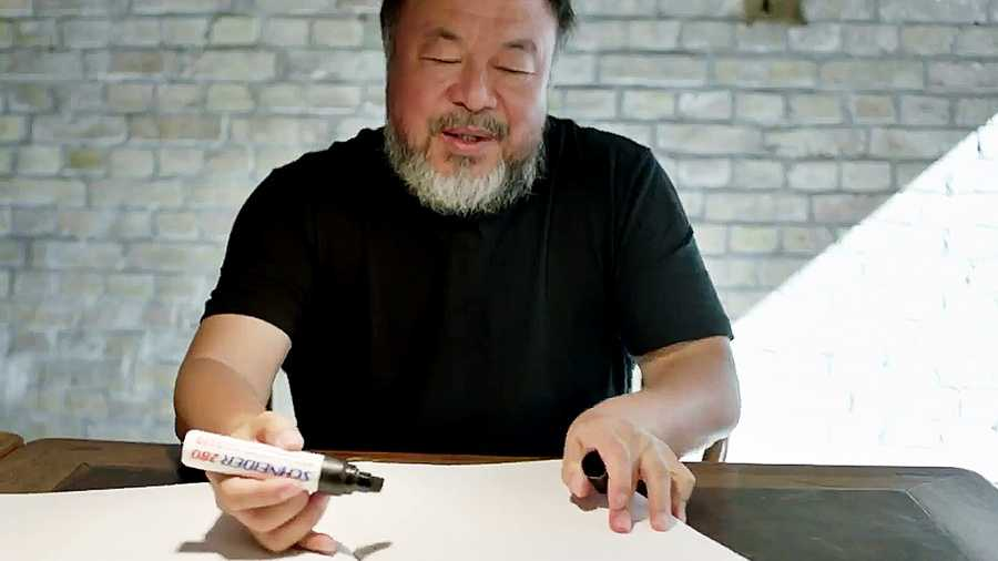 "Ai Weiwei i ""Why are we creative?"""