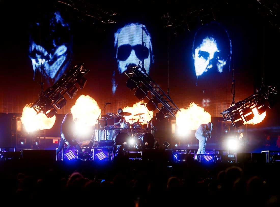 In Flames.
