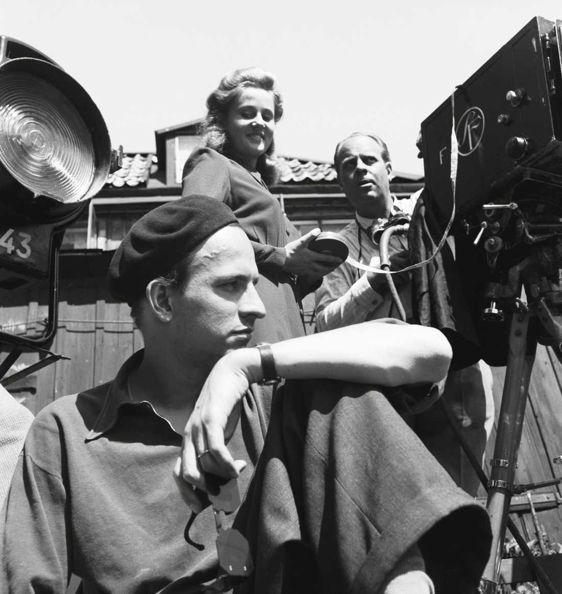 Ingmar Bergman, bekymrad basker.