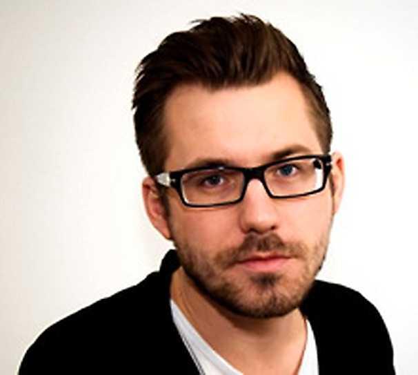 Daniel Poohl, chefredaktör och ansvarig utgivare på tidsskriften Expo.