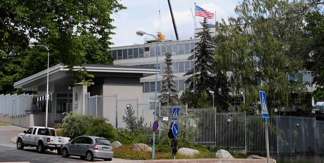Amerikanska ambassaden i Stockholm.