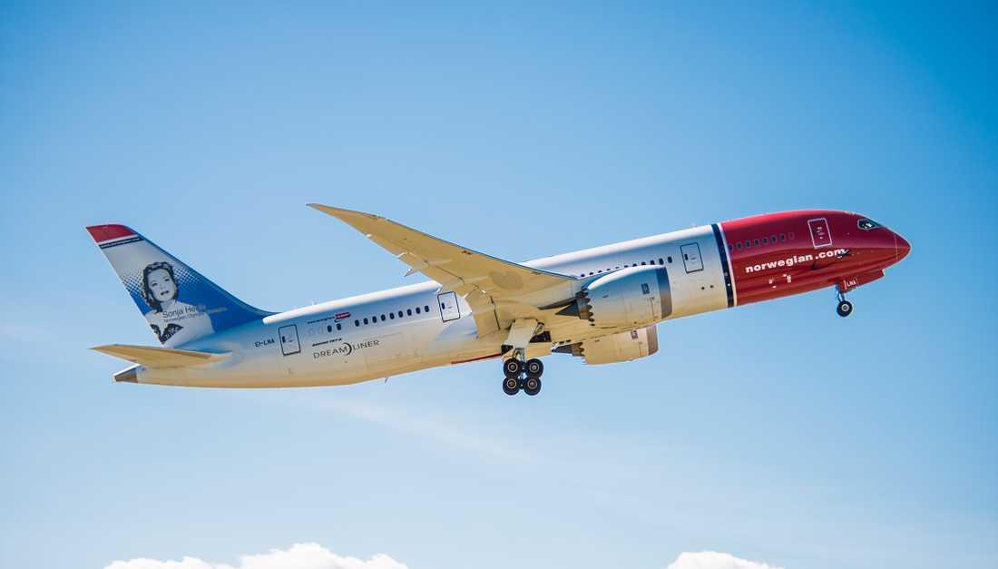 Norwegians Boeing 787-8 Dreamliner.