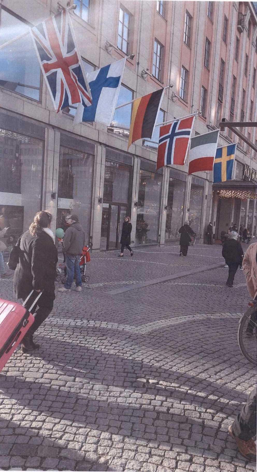 Akilovs bild från Hötorget, Stockholm.