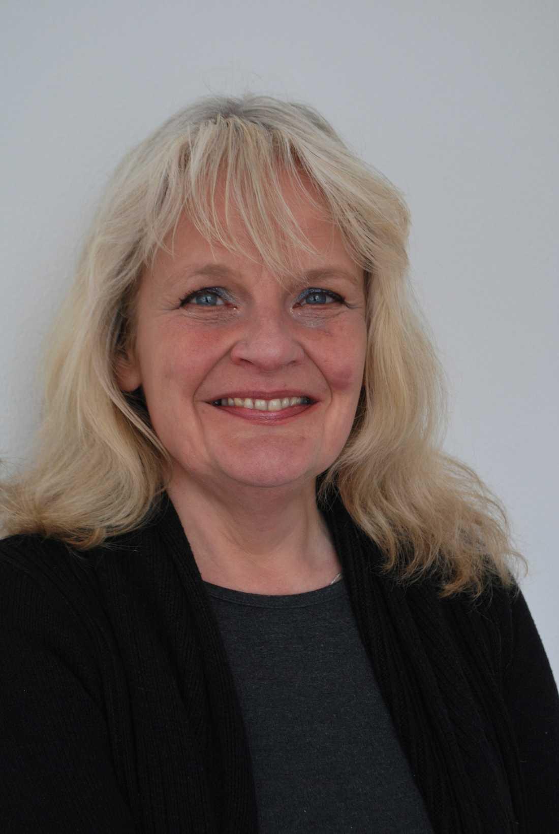 Maria Küchen (f 1961) debuterade som poet 1989. Foto: Klara Rasmussen