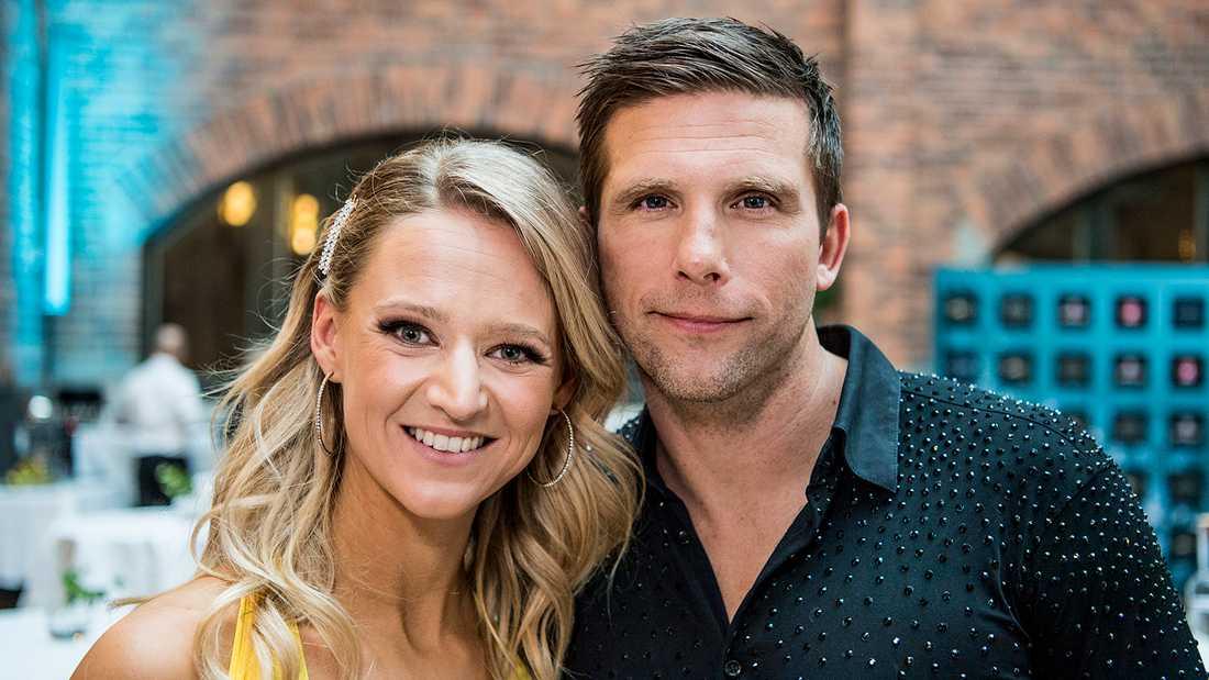 Anders Svensson och hans danspartner Maria Zimmerman.