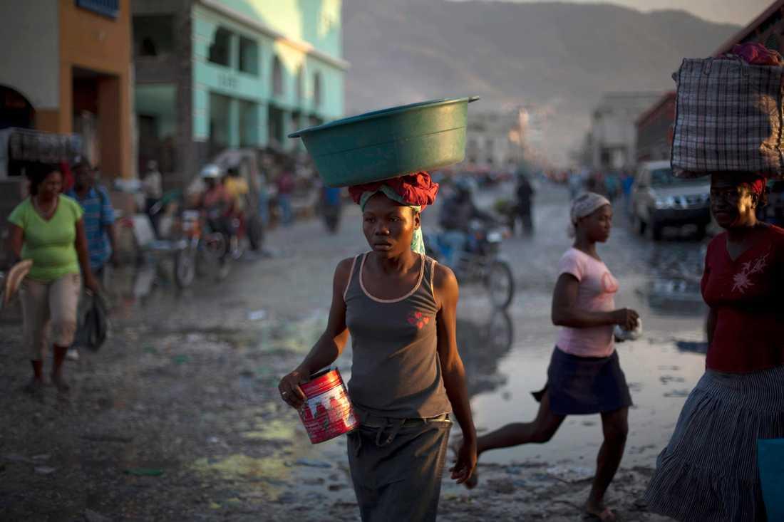 Många haitier flyr extrem fattigdom och försöker sjövägen nå Bahamas eller Turks- och Caicosöarna. Arkivbild.