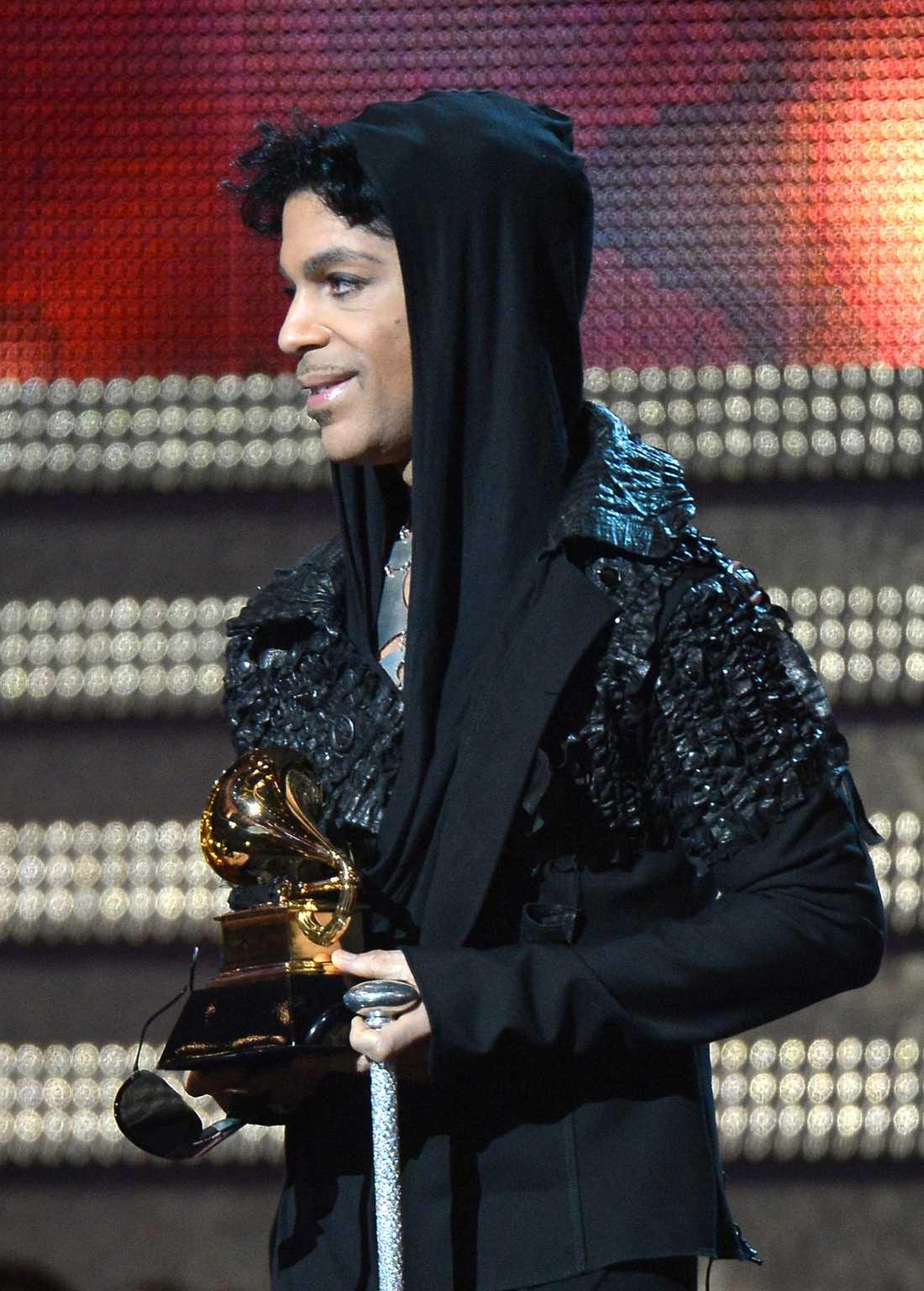 Princve på Grammy Awards i Los Angeles februari 2013