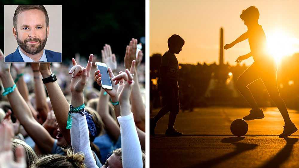 Att ett fåtal grannar upplever att de störs måste kunna vägas mot en levande stad som kan få fyllas med kultur och idrott. Jag ser ingen annan väg än att reformera de nationella regelverken för att balansera upp intressen mellan grannar och viktiga verksamheter i omgivningen, skriver Jonas Naddebo (C).