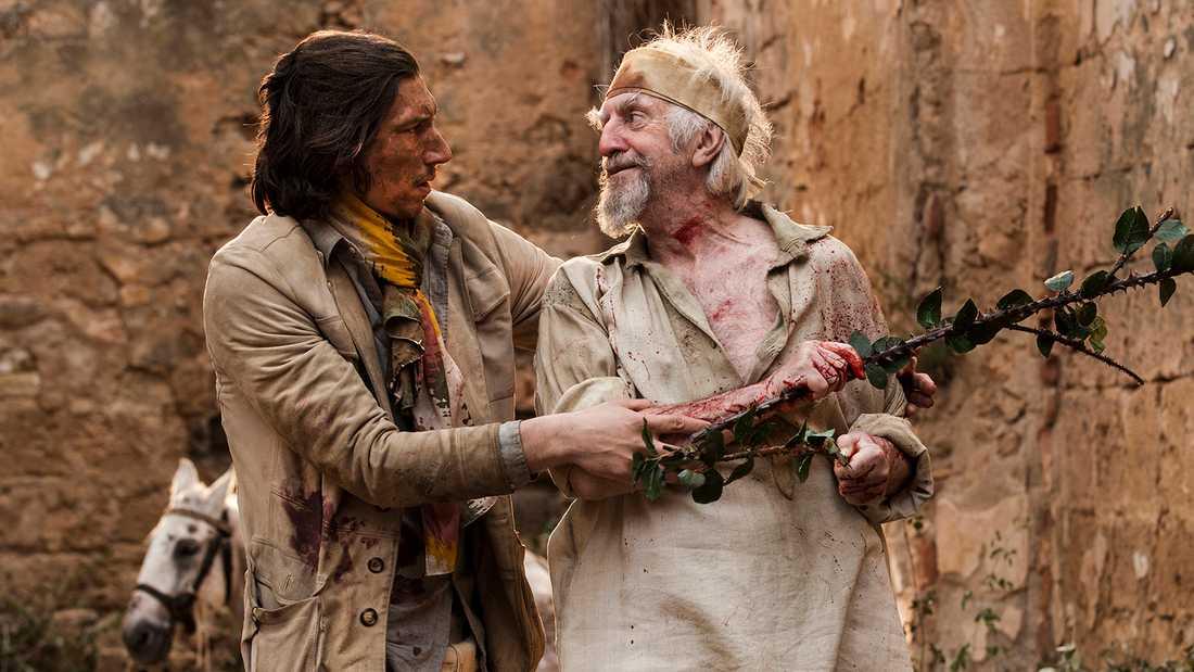 Efter 25 år har Terry Gilliams film om Don Quijote blivit verklighet.