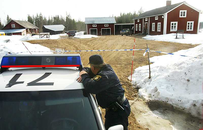 Mordet ägde rum  i Kalamark 2004.