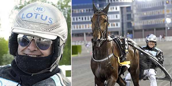 Robert Bergh är finalklar i Svenskt Travkriterium med Head Run.