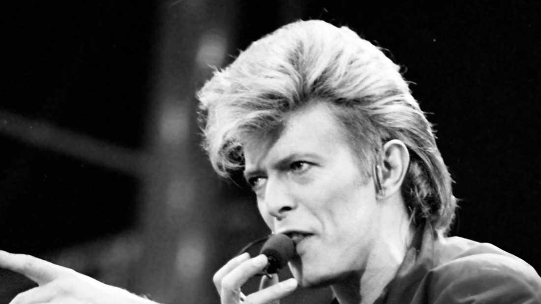 """David Bowie spelade en av rollerna i fantasyfilmen """"Labyrint"""". Nu görs filmen på nytt. Arkivbild."""