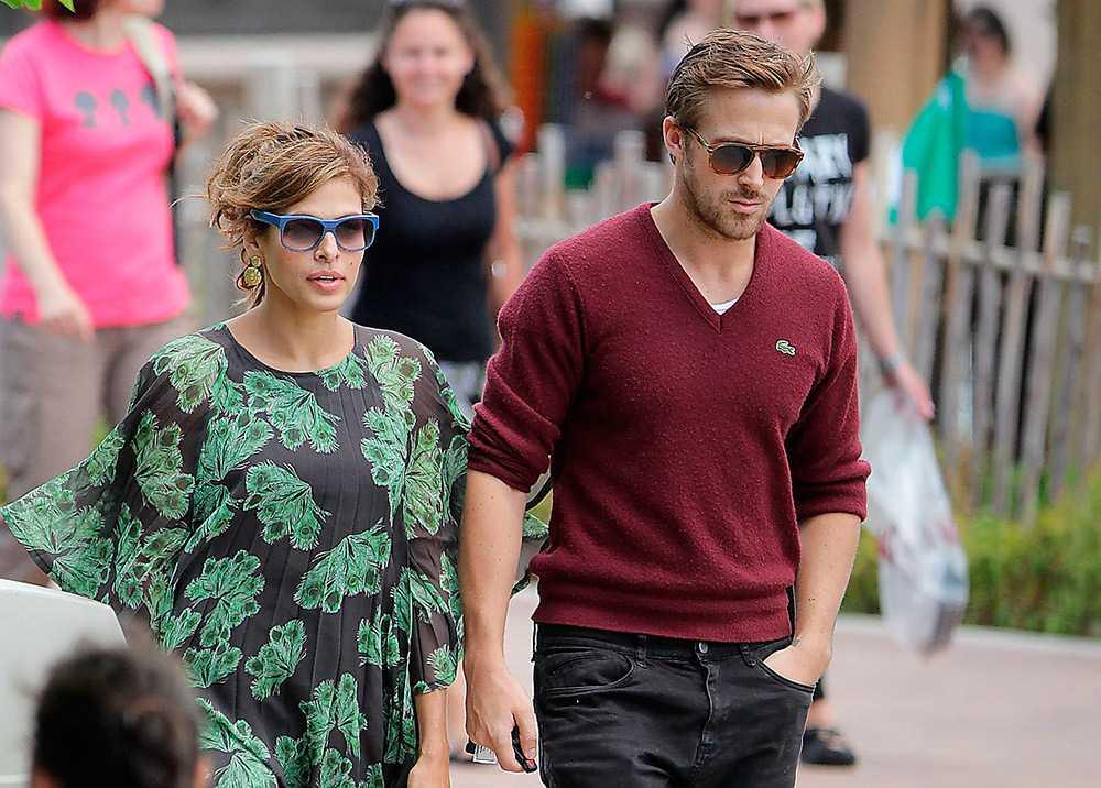 """Eva Mendes och Ryan Gosling har träffats sedan inspelningen av """"The place beyond the pines""""."""