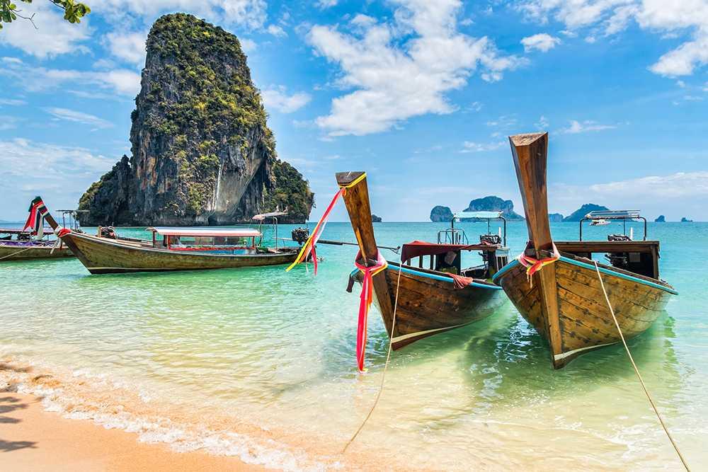 Resa till Thailand står högt i kurs när vi bokar.