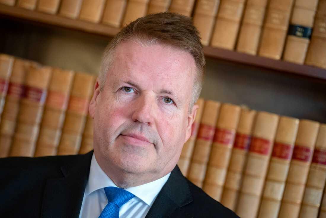 """""""Under 2020 hade vi 13870 inkomna mål. Det är all time high för Malmö tingsrätt"""", säger Lennart Strinäs, tillförordnad lagman."""